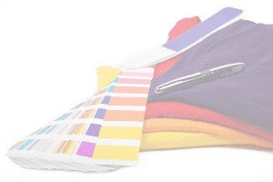 Colour Swatches and T Shirts